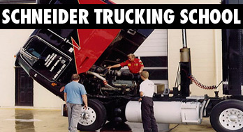 Schneider Trucking School